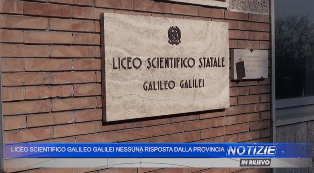 """Ancora inagibile la palestra del """"Galileo Galilei"""""""