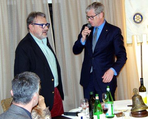 Oliviero Toscani al Rotary Club Siena Est