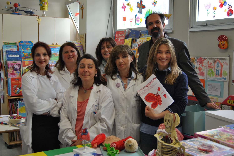 Dalla pedana alle Scotte: la campionessa Margherita Granbassi in pediatria