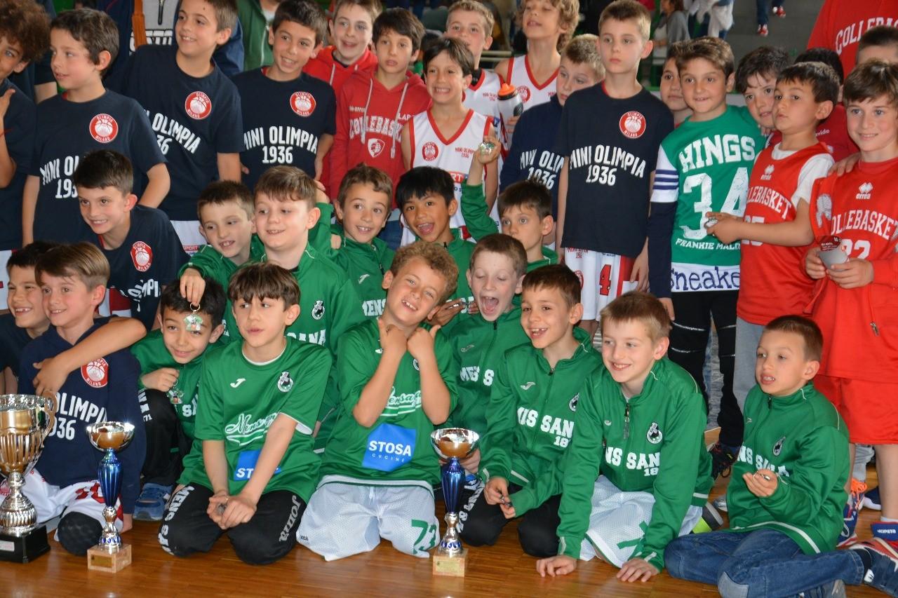 """MINIBASKET – Grande partecipazione al torneo nazionale """"Scoiattoli in campo"""". Vince Milano"""