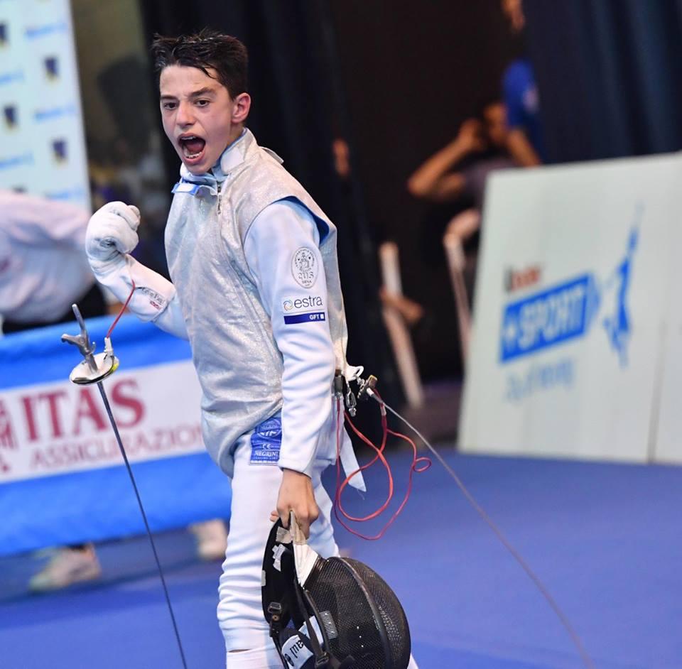 Joseph Ceroni il nuovo Campione Italiano di fioretto
