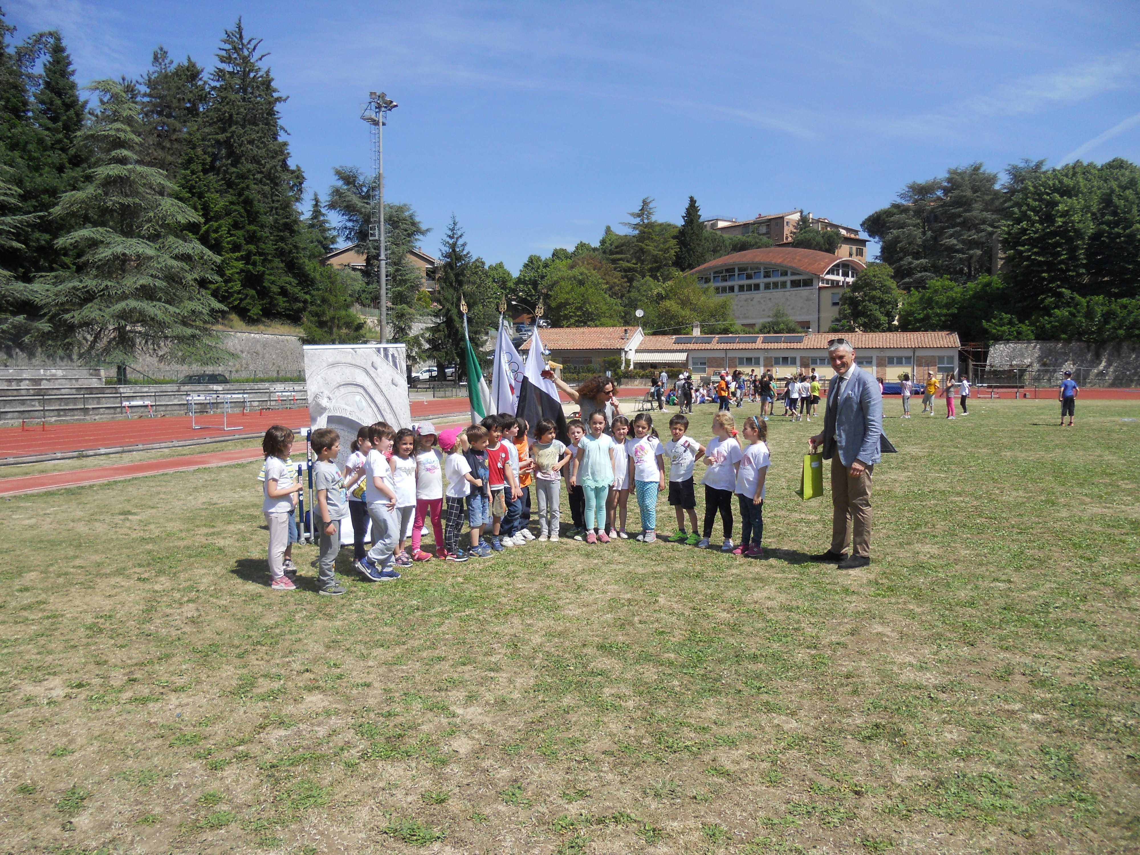 Coni: al camposcuola festa per la chiusura del progetti scolastici