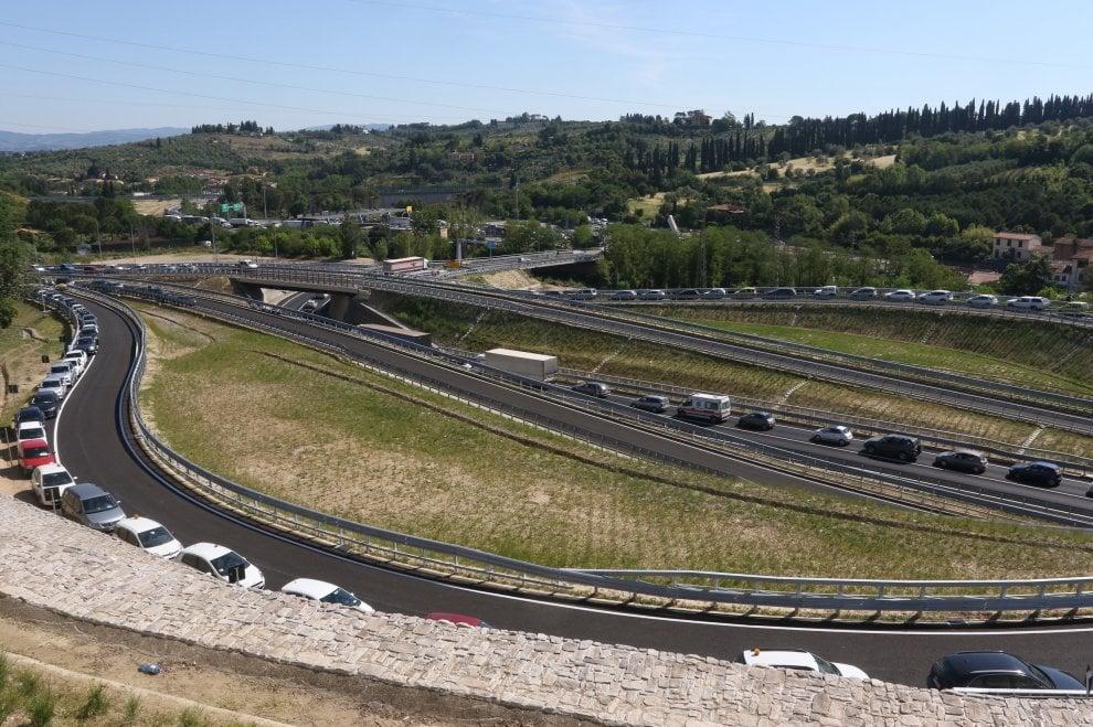 Inaugurato il by pass del Galluzzo