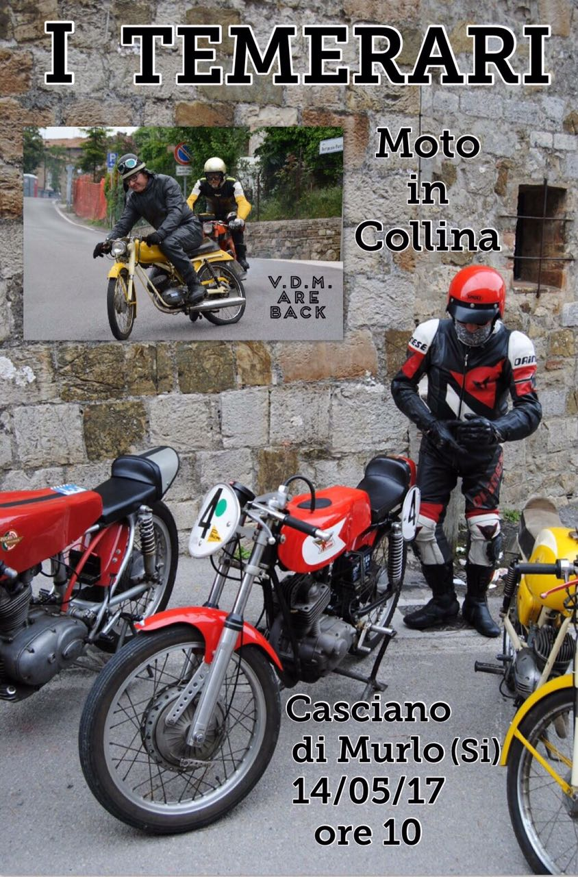 """Seconda edizione de """"I temerari"""", giornata dedicata alla passione del motociclismo"""