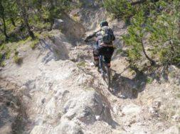 mountain bike ciclista