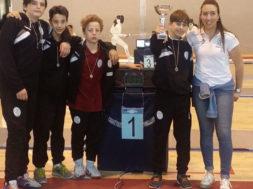 Spada regionale – squadra u14