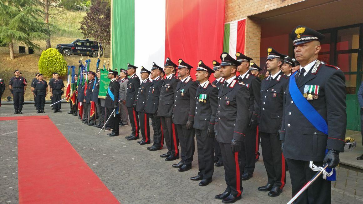 Festa dell'Arma dei carabinieri: il colonnello Giorgio Manca saluta la città e promette una sorpresa