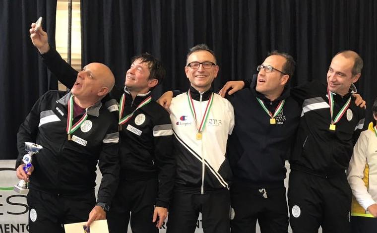 La scherma cussina festeggia il titolo italiano numero 100