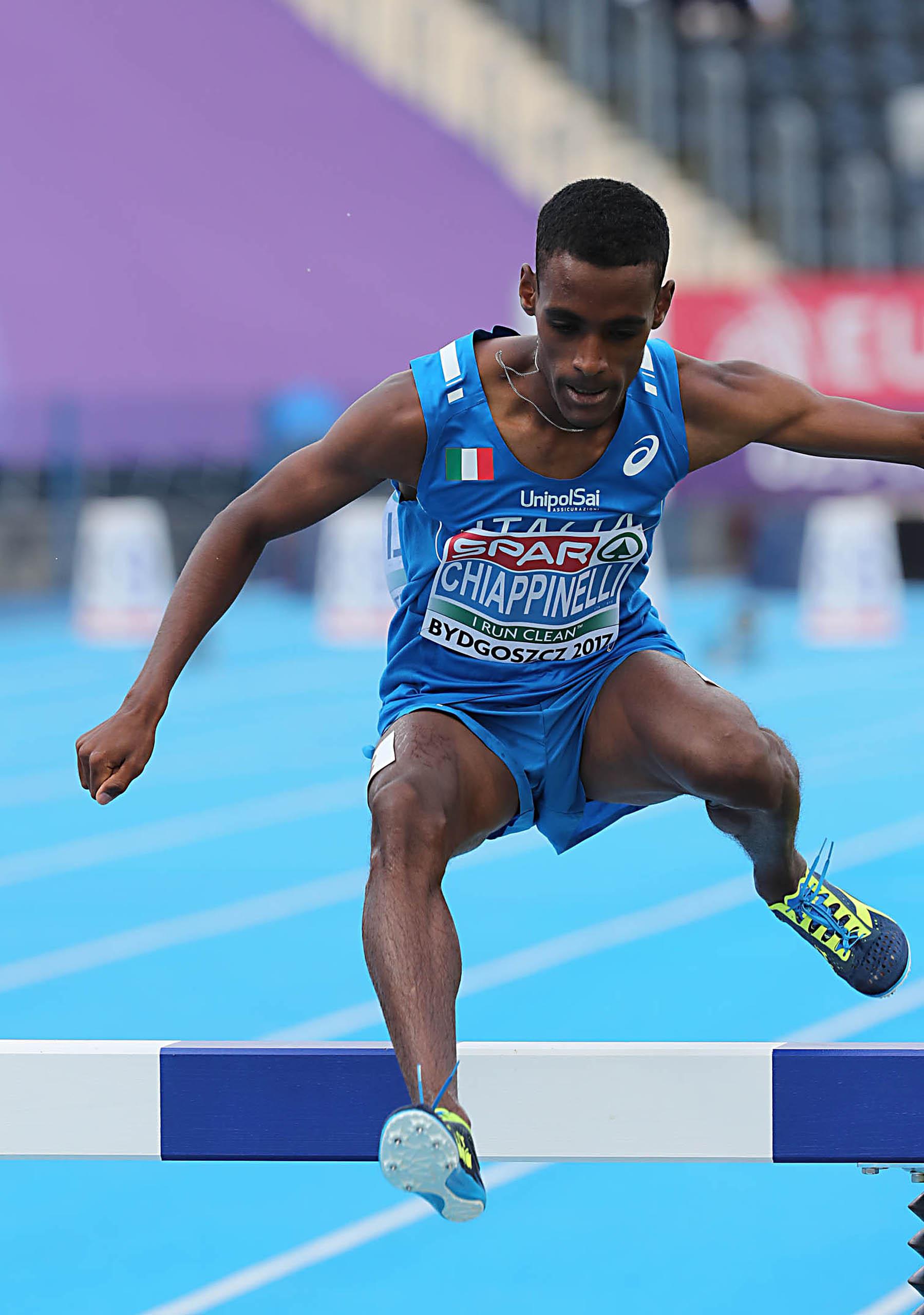 Chiappinelli medaglia di bronzo ai Giochi del Mediterraneo. La gioia dell'Uisp Atletico Siena
