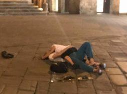 amoreggia piazza tolomei