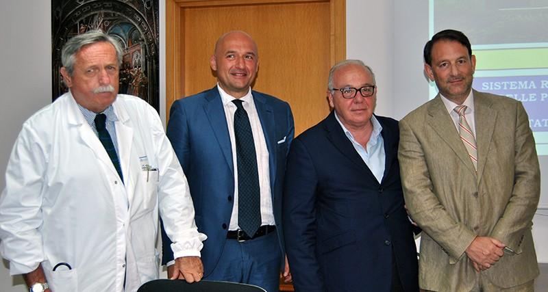 Fine mandato per il dg Pierluigi Tosi con l'annuncio di 12 nuove sale operatorie