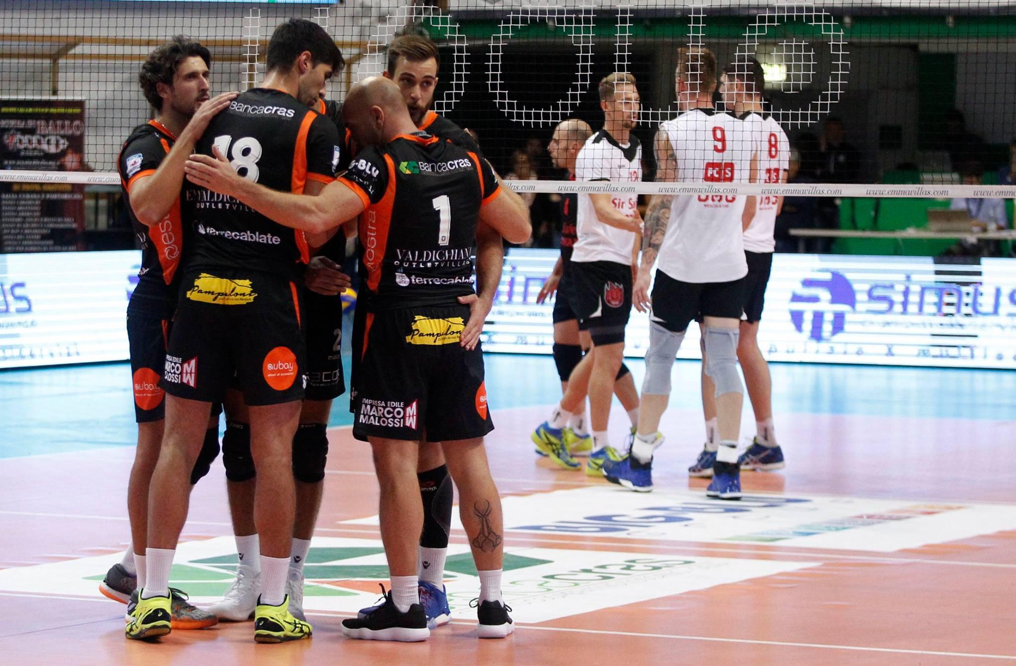 """Duemila tifosi al """"Volley Day"""", la Sir Safety Perugia vince tutti e quattro i set"""