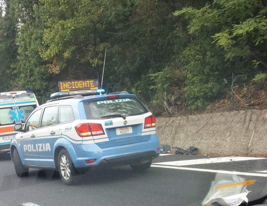 Incidente stradale sulla Cassia, traffico completamente bloccato
