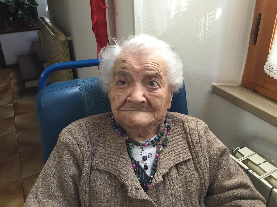 Compie 110 anni la nonna dell'Amiata