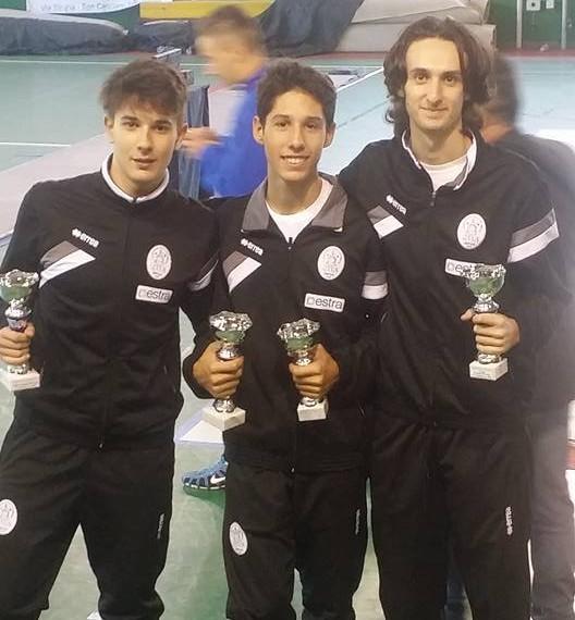 Il Cus Scherma conquista due titoli toscani giovanili