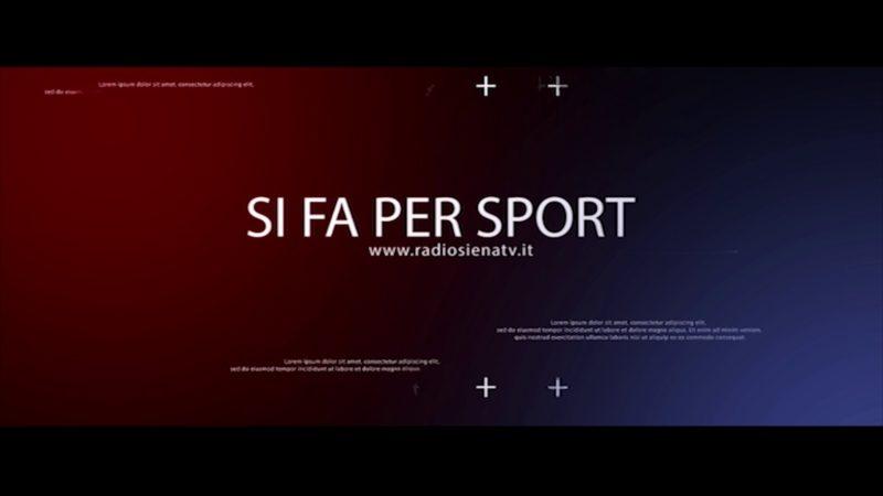 """Stasera alle 19.30 ultima puntata del 2018 di """"Si fa per Sport"""""""