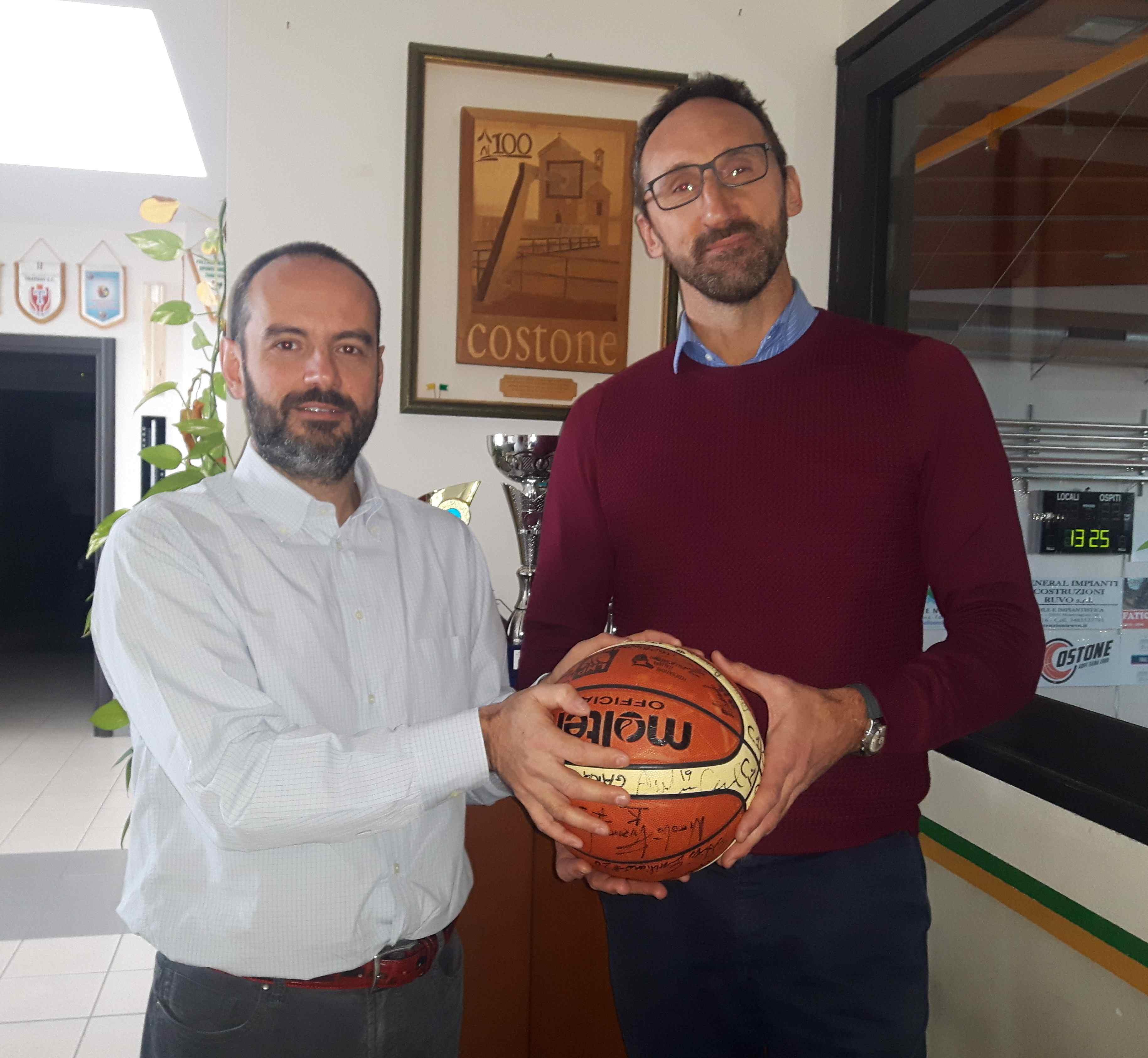 Costone Basket, Andrea Cessel torna in campo a 48 anni