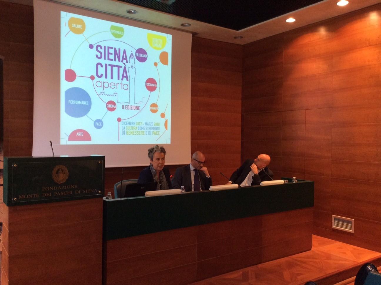 """""""Siena città aperta"""", presentata la seconda edizione all'insegna di arte e benessere"""