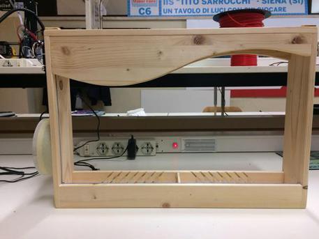 Nei laboratori del Sarrocchi inventata un'arpa a raggi laser