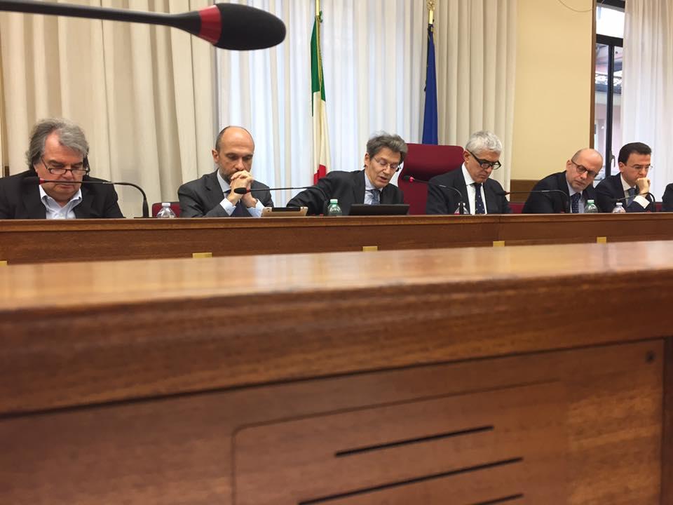 """Commissione Mps, 4 ore di audizione. Cenni: """"Lavoro dei pm Baggio e Civardi molto serio"""""""