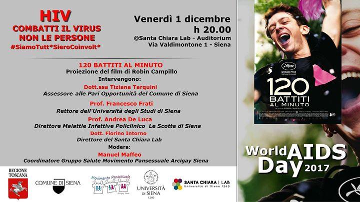 HIV, una giornata di sensibilizzazione al Santa Chiara Lab di Siena in occasione della Giornata mondiale per la lotta all'AIDS
