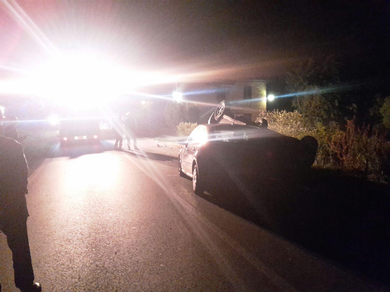 Incidente sulla Cassia, diverse auto coinvolte