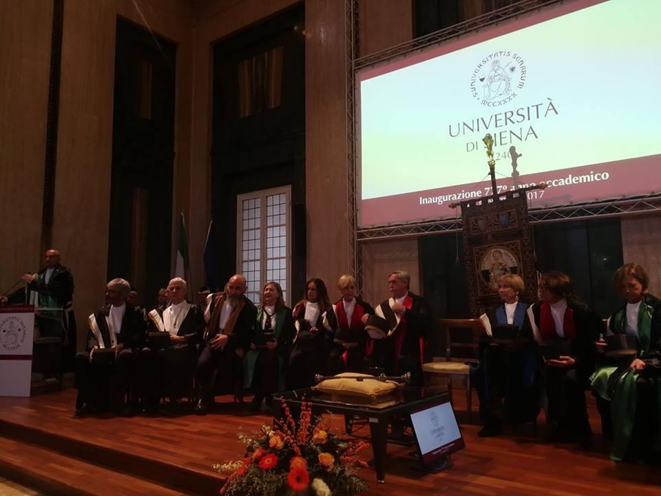 Inaugurato il 777esimo Anno Accademico dell'Università di Siena