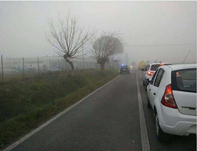 Rallentamenti al traffico in pian dei Mori per un lieve incidente