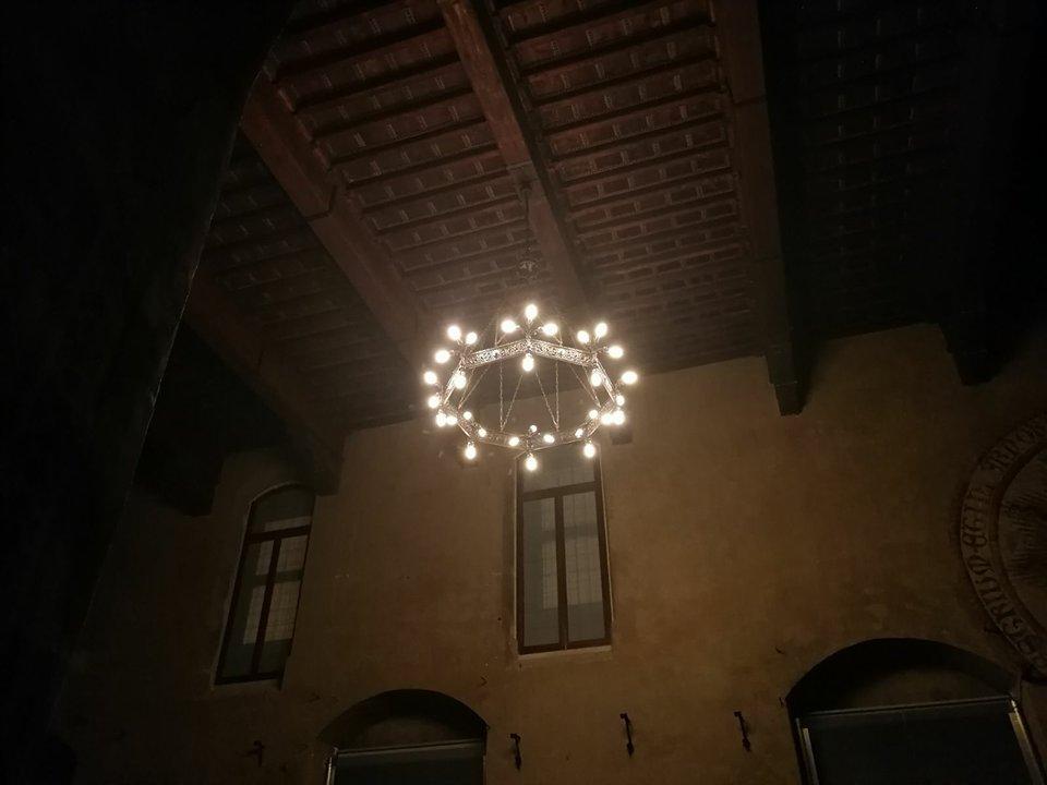 Inaugurata la nuova illuminazione del Museo Civico – LE FOTO