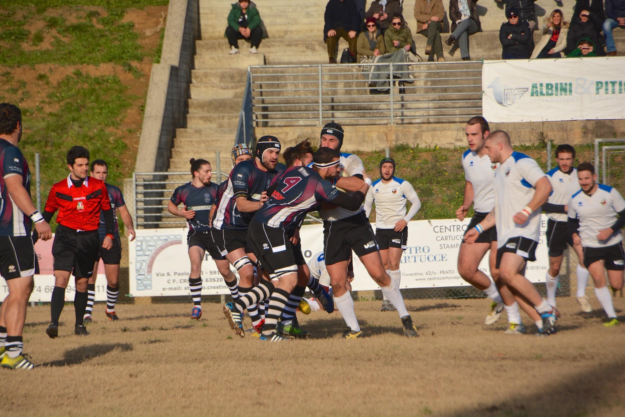 Rugby: Banca CRAS CUS SIena da solo in vetta