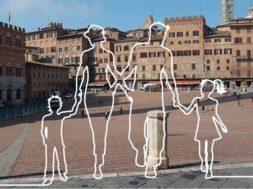 Passeggiate d'autore sabato a Siena
