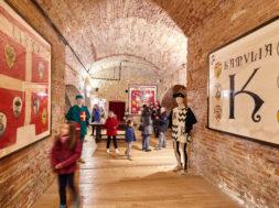 Sala Costumi Febbraio al Museo