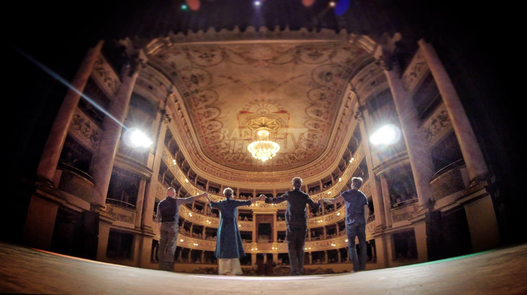 La stagione 2019-2020 raddoppia con il teatro dei Rinnovati e il teatro dei Rozzi