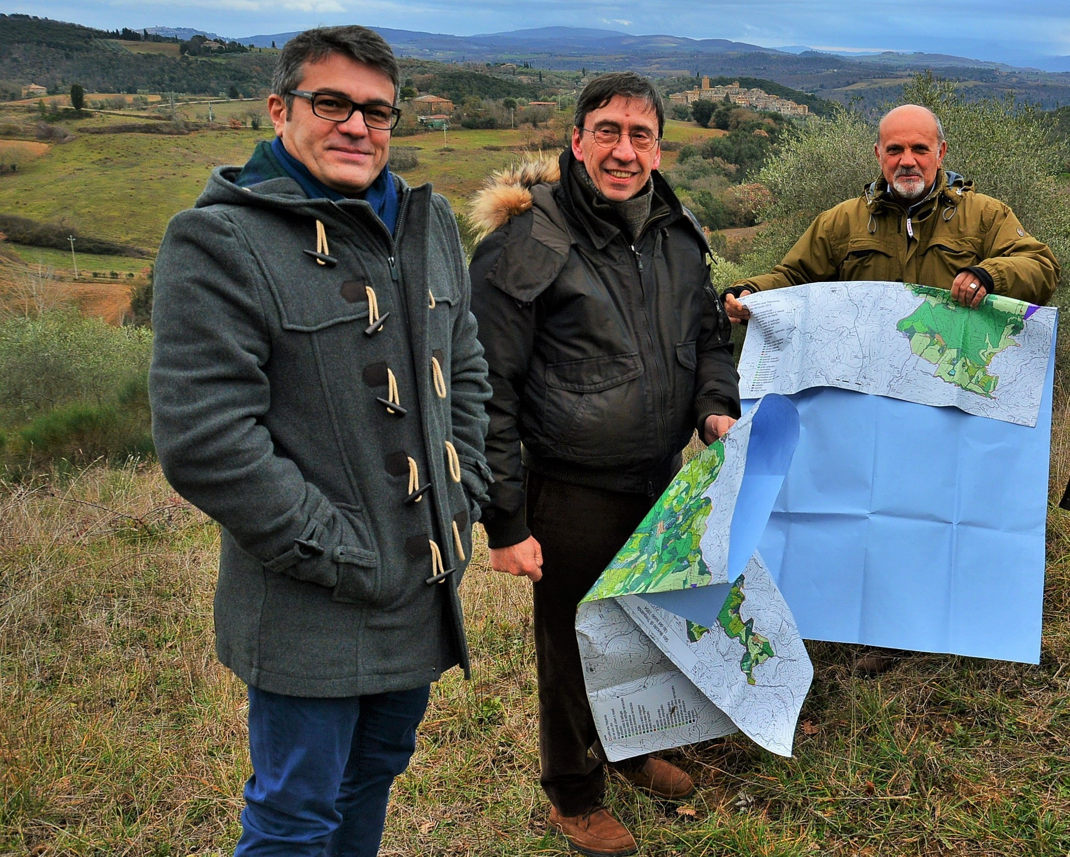 """Trequanda, attribuito dal Ministero delle politiche agricole il riconoscimento di """"paesaggio rurale storico"""""""