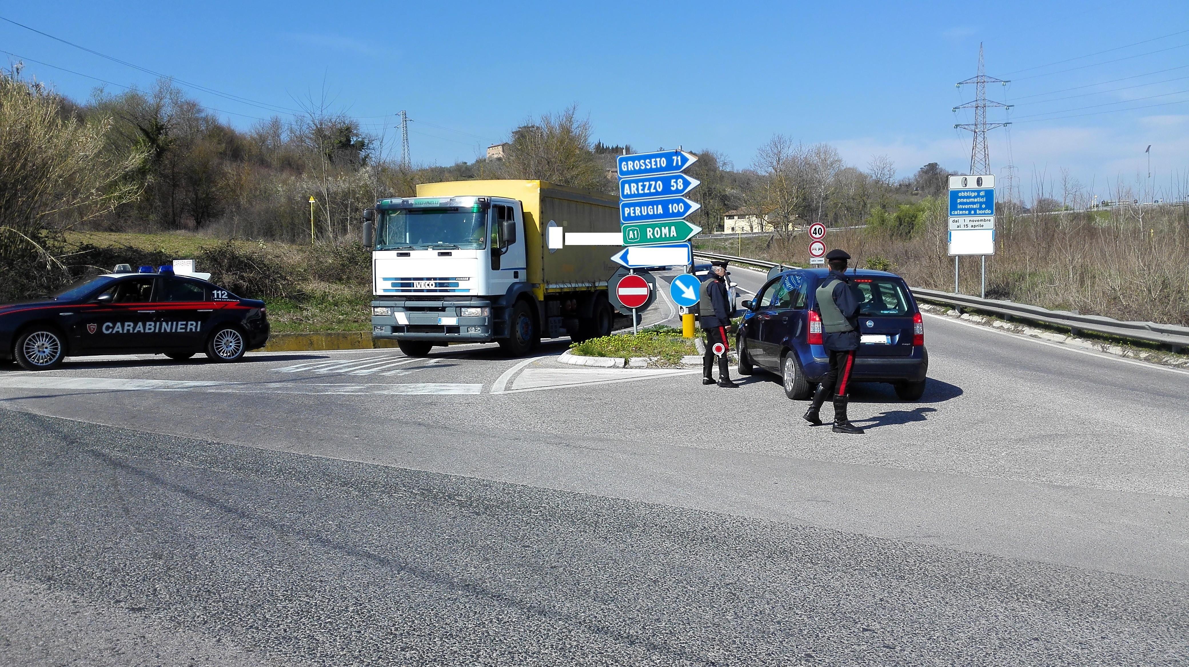 Montepulciano, i carabinieri sventano il furto di un camion