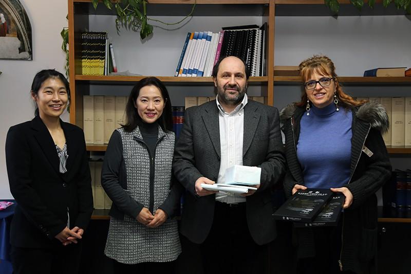 Genetica medica, due dottoresse giapponesi dell'università di Kyoto in visita all'AOU Senese