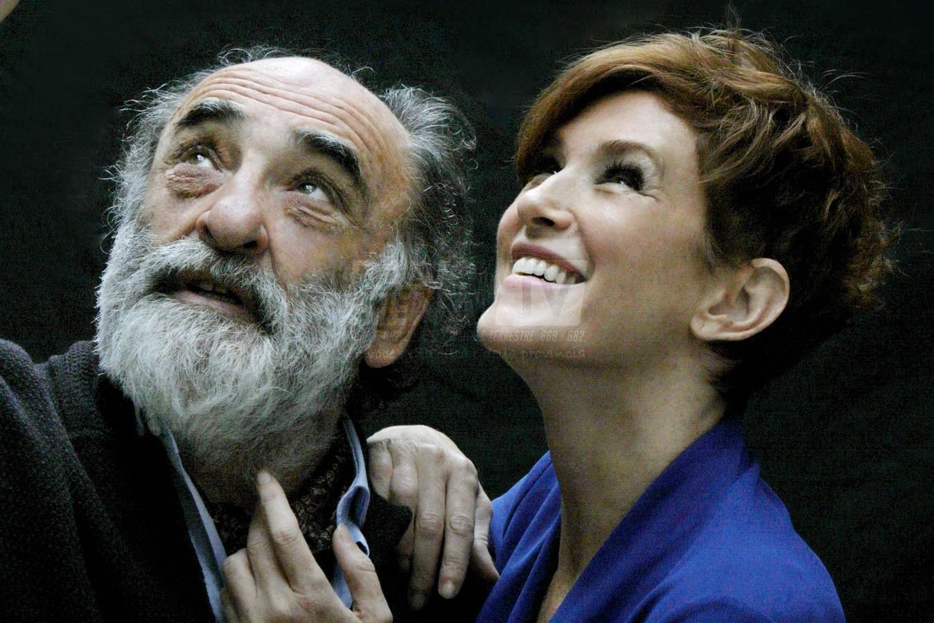 """""""Il padre"""", Haber e Lante della Rovere in scena al teatro dei Rinnovati"""