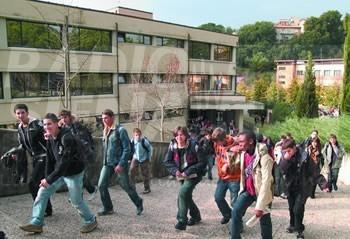 Gli studenti del Sarrocchi all'evento conclusivo del progetto Life Re Mida