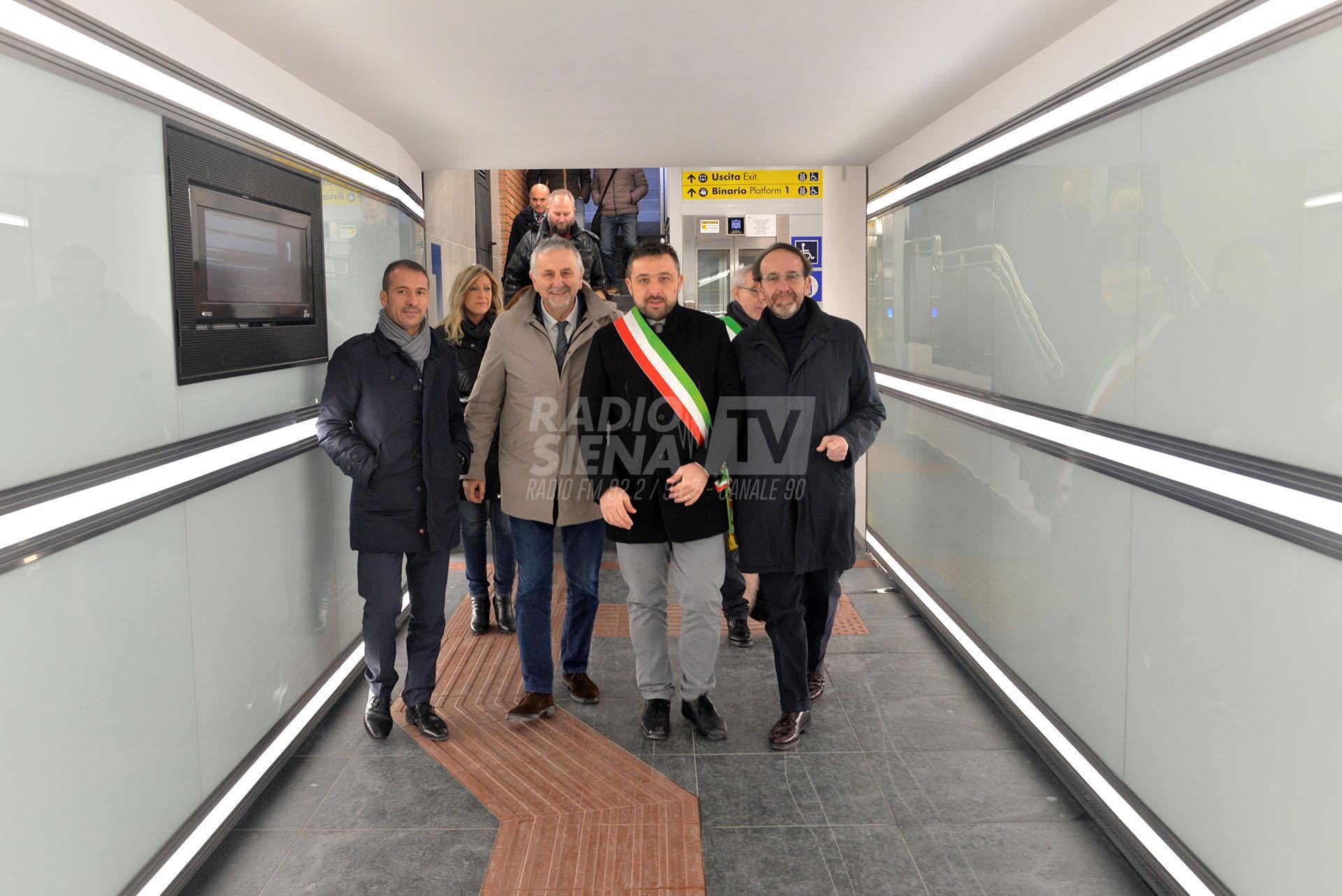 Chiusi-Chianciano Terme, una stazione rinnovata e più accessibile