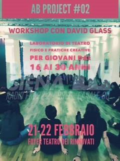 Ritorna a Siena AB Project di David Glass, il seminario di teatro fisico per i giovani
