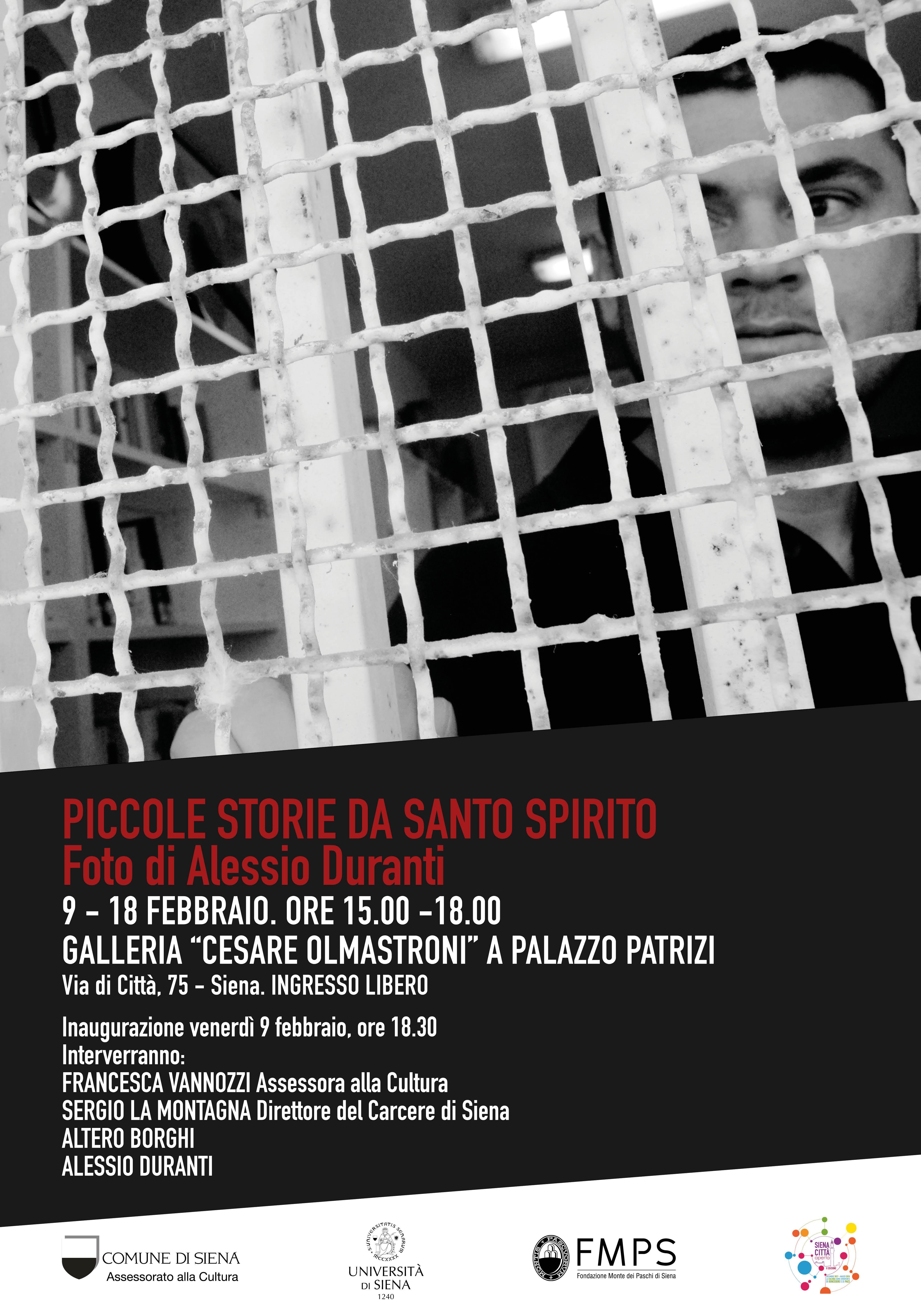 """""""Piccole storie da Santo Spirito"""", la vita nel carcere senese in mostra alla Galleria Olmastroni"""