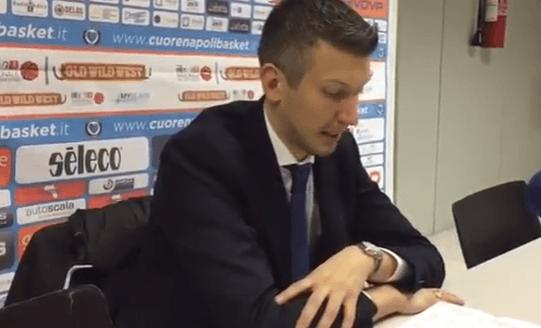 """Cuore Napoli-Soundreef Siena, Mecacci: """"Abbiamo sbagliato troppo"""""""