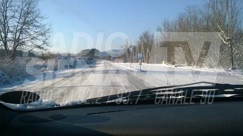 Emergenza neve: la Siena-Grosseto è una lastra di ghiaccio, disagi sull'Autopalio