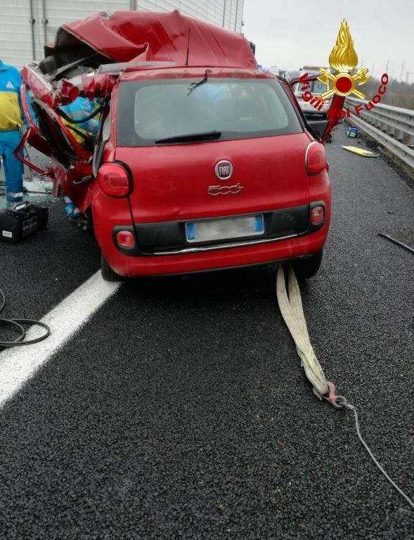Incidente mortale sull'A1 nel tratto Chiusi-Valdichiana