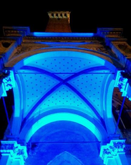 Siena si tinge di blu per una 4 giorni di sensibilizzazione sull'autismo
