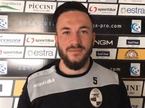 """Siena-Reggiana, l'ex Neglia: """"Contento di tornare al Franchi. Sarà un match tosto"""""""