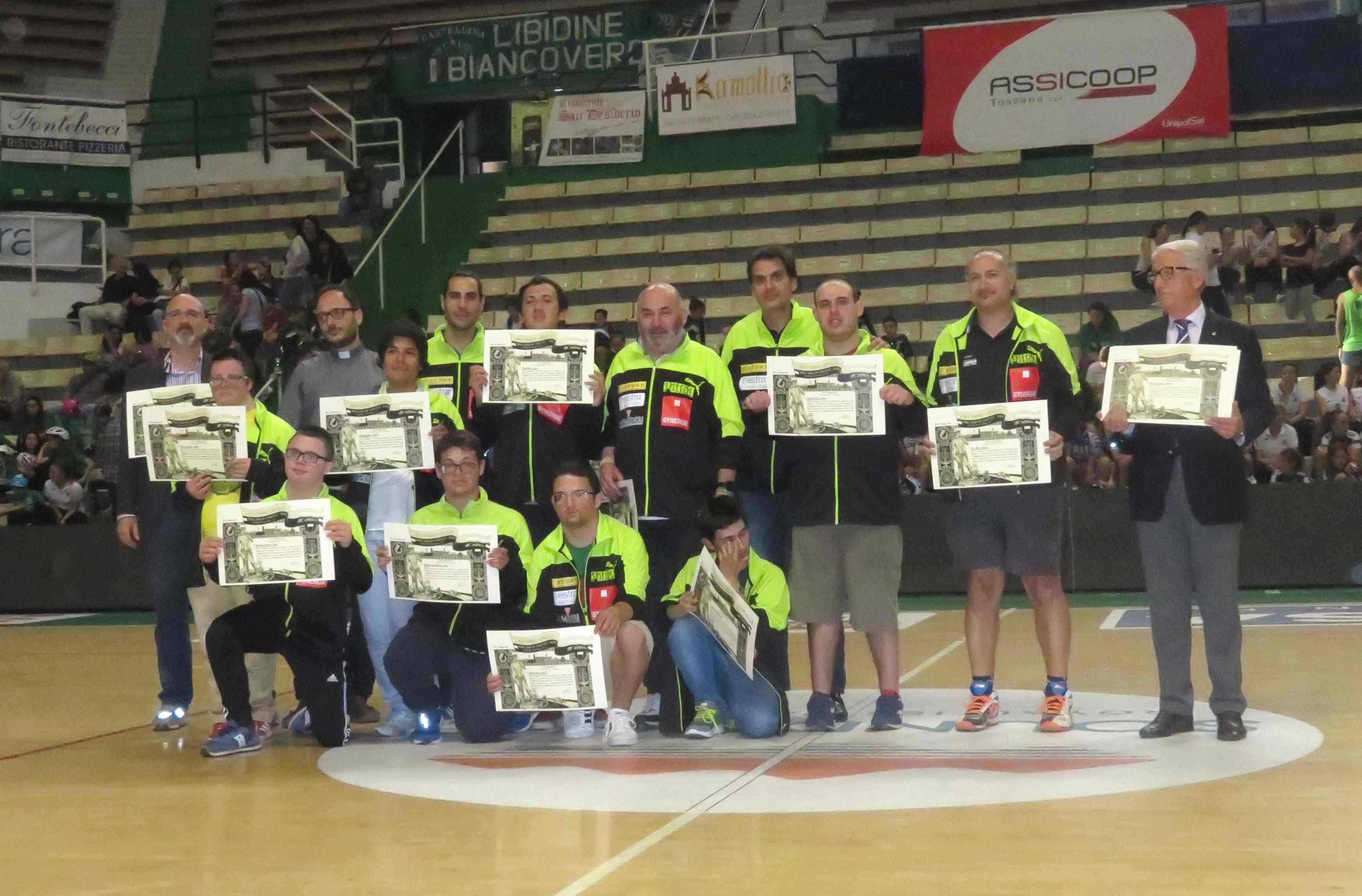 Il Costone rappresenta l'Italia ai campionati europei di Baskin