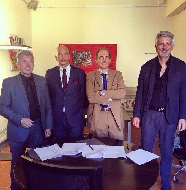 Firmato il patto per l'edilizia tra Cassa e Scuola Edile Senese e gli Ordini professionali