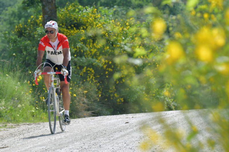 Eroica Montalcino, 1400 gli avventurosi ciclisti al via
