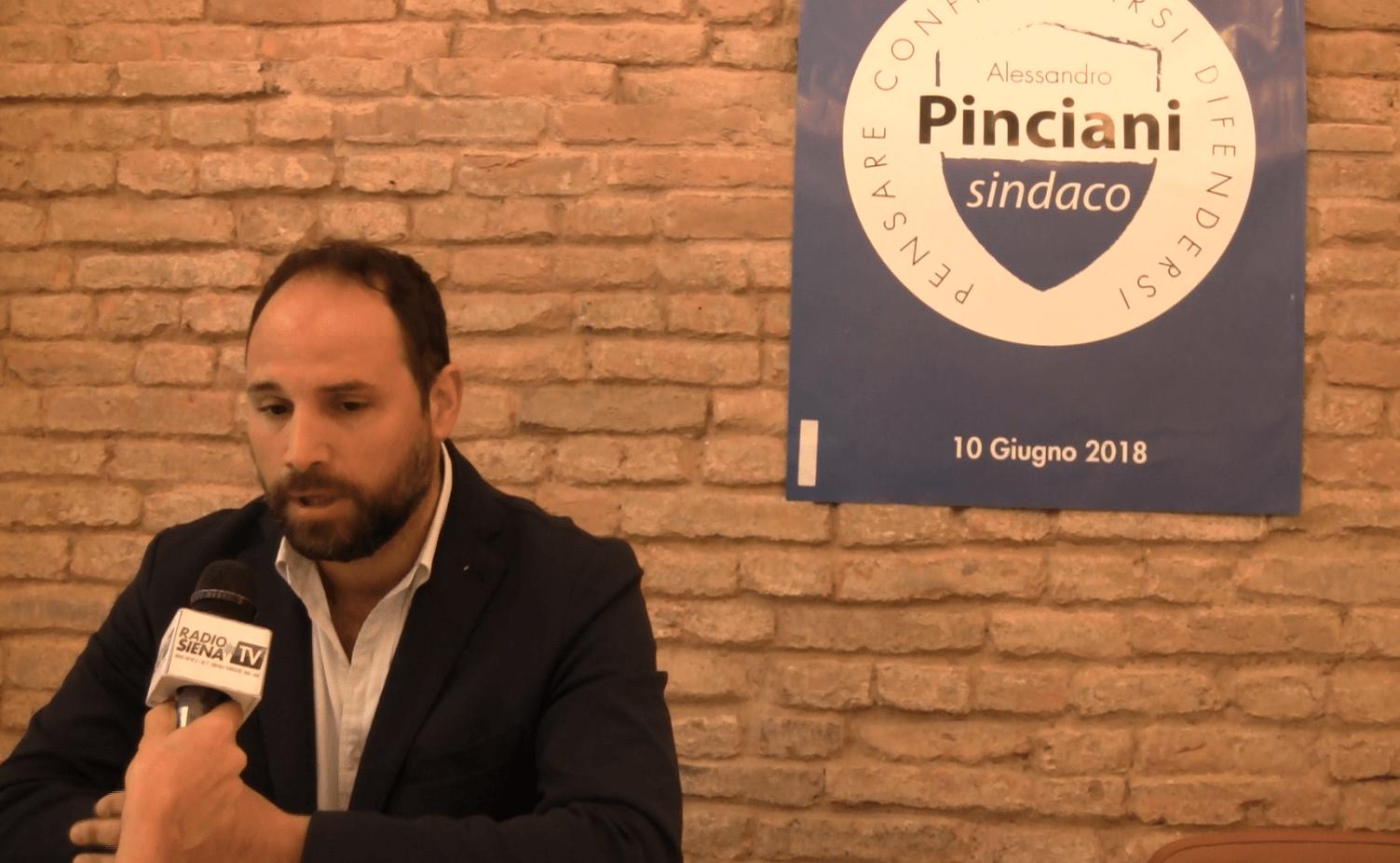 """Pinciani a Siena Tv: """"Ho amministrato bene in Provincia, valutatemi per questo. Monaciano? Sì, è garanzia di onestà"""""""